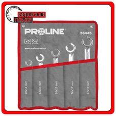 Proline Набор разрезных ключей 5 предметов, 10x11 - 17x19 мм