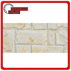 СЛАНЕЦ Ваниль искусственный камень 390х195х20мм (уп. 1 м2)