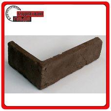 КЛИНКЕР Абрикос искусственный камень 210х110х60х15мм (уп. 42 шт.) (угловой элемент)