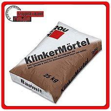 Baumit Klinker S Antracyt (антрацит) смесь для кладки клинкерного кирпича, 25 кг