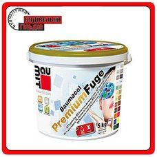 Baumit Premium Fuge затирка для швів - anthracite (мокрий асфальт) 2 кг