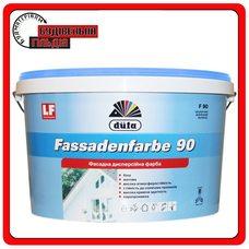 Синтетическая фасадная краска дюфа - Fassedenfarbe F90, 10л
