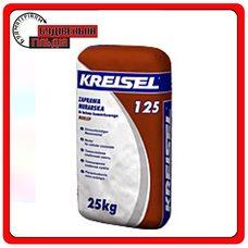 Суміш для кладки блоків з пористого бетону Kreisel PORENBETONKLEBER 125 25 кг