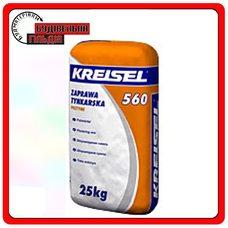 Суміш для кладки клінкерної цегли (сіра) Kreisel PUTZMÖRTEL 560 25кг