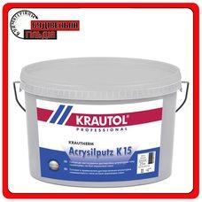 Krautol Krautherm Acryl Putz K15 фасадна акрилова штукатурка баранчик (1.5мм) 25кг