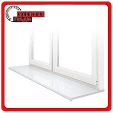 ПВХ - подоконники Openteck, Белый цвет, 100 мм
