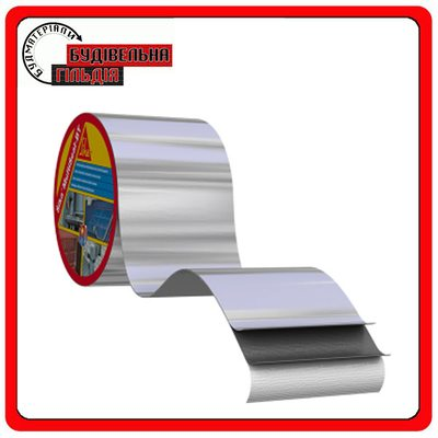 Sika MultiSeal T самоклеюча бітумна стрічка / 10м x 100 мм, сірий
