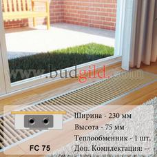 Внутрипольный конвектор FC 75, 1000 мм