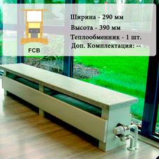 Внутрипольный конвектор FCB, 1000 мм
