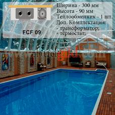 Внутрипольный конвектор FCF 09 12v, 1000 мм