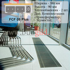 Внутрипольный конвектор FCF 09 Plus 12v, 1000 мм
