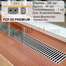 Внутрипольный конвектор FCF 09 PREMIUM 24v, 1000 мм