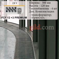 Внутрипольный конвектор FCF 12 +3 PREMIUM 24v, 1000 мм