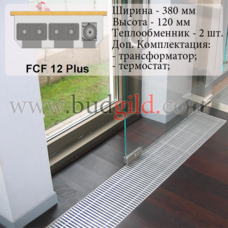 Внутрипольный конвектор FCF 12 Plus 12v, 1000 мм