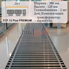 Внутрипольный конвектор FCF 12 Plus PREMIUM 24v, 1000 мм