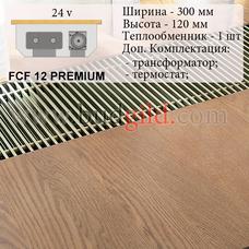 Внутрипольный конвектор FCF 12 PREMIUM 24v, 1000 мм
