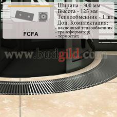 Внутрипольный конвектор FCFA 12v, 1000 мм