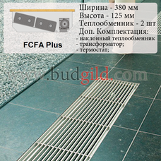 Внутрипольный конвектор FCFA Plus 12v, 1000 мм