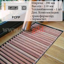 Внутрипольный конвектор FCFP 12v, 1000 мм
