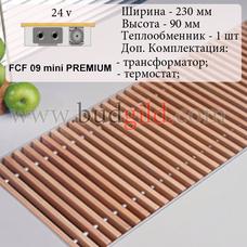 Внутрипольный конвектор FCF 09 mini PREMIUM 24v, 1000 мм
