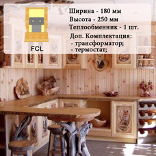 Внутрипольный конвектор FCL, 1000 мм